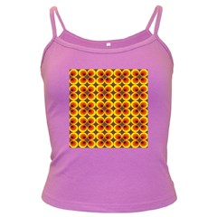 Seventies Hippie Psychedelic Circle Dark Spaghetti Tank