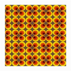 Seventies Hippie Psychedelic Circle Medium Glasses Cloth (2-Side)