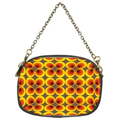 Seventies Hippie Psychedelic Circle Chain Purses (One Side)