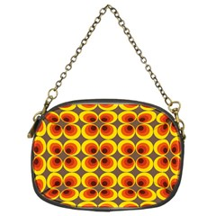 Seventies Hippie Psychedelic Circle Chain Purses (Two Sides)