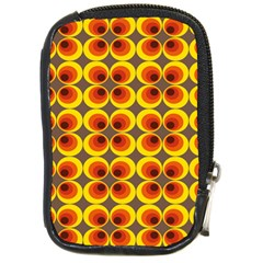 Seventies Hippie Psychedelic Circle Compact Camera Cases