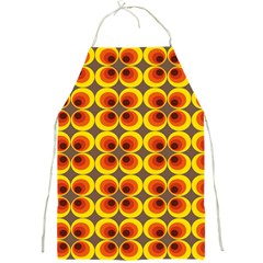Seventies Hippie Psychedelic Circle Full Print Aprons