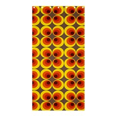 Seventies Hippie Psychedelic Circle Shower Curtain 36  x 72  (Stall)