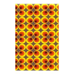 Seventies Hippie Psychedelic Circle Shower Curtain 48  x 72  (Small)