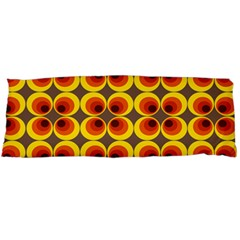 Seventies Hippie Psychedelic Circle Body Pillow Case Dakimakura (Two Sides)