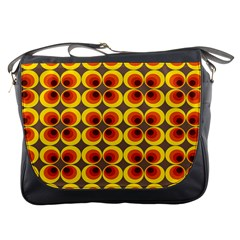 Seventies Hippie Psychedelic Circle Messenger Bags