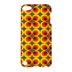 Seventies Hippie Psychedelic Circle Apple Ipod Touch 5 Hardshell Case