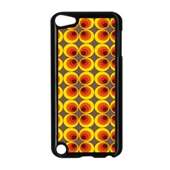 Seventies Hippie Psychedelic Circle Apple iPod Touch 5 Case (Black)