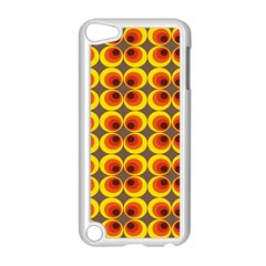 Seventies Hippie Psychedelic Circle Apple iPod Touch 5 Case (White)