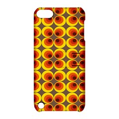 Seventies Hippie Psychedelic Circle Apple iPod Touch 5 Hardshell Case with Stand