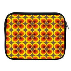 Seventies Hippie Psychedelic Circle Apple iPad 2/3/4 Zipper Cases
