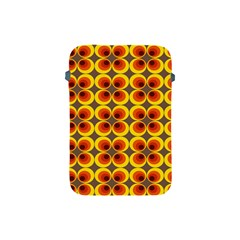 Seventies Hippie Psychedelic Circle Apple iPad Mini Protective Soft Cases