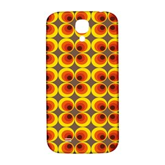 Seventies Hippie Psychedelic Circle Samsung Galaxy S4 I9500/I9505  Hardshell Back Case