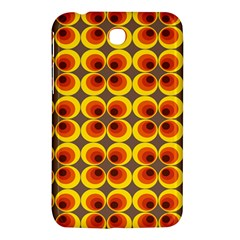 Seventies Hippie Psychedelic Circle Samsung Galaxy Tab 3 (7 ) P3200 Hardshell Case