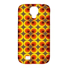 Seventies Hippie Psychedelic Circle Samsung Galaxy S4 Classic Hardshell Case (pc+silicone)