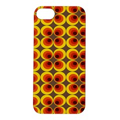 Seventies Hippie Psychedelic Circle Apple iPhone 5S/ SE Hardshell Case