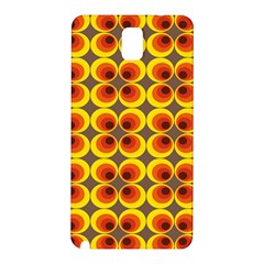 Seventies Hippie Psychedelic Circle Samsung Galaxy Note 3 N9005 Hardshell Back Case