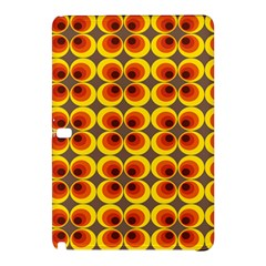 Seventies Hippie Psychedelic Circle Samsung Galaxy Tab Pro 10.1 Hardshell Case