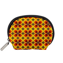 Seventies Hippie Psychedelic Circle Accessory Pouches (Small)