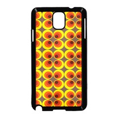 Seventies Hippie Psychedelic Circle Samsung Galaxy Note 3 Neo Hardshell Case (Black)