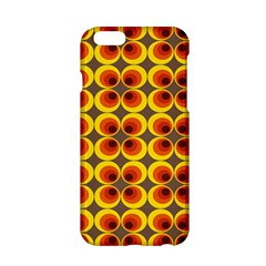 Seventies Hippie Psychedelic Circle Apple iPhone 6/6S Hardshell Case