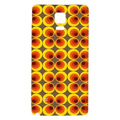 Seventies Hippie Psychedelic Circle Galaxy Note 4 Back Case
