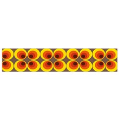 Seventies Hippie Psychedelic Circle Flano Scarf (Small)