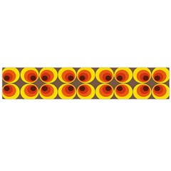 Seventies Hippie Psychedelic Circle Flano Scarf (Large)