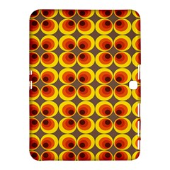 Seventies Hippie Psychedelic Circle Samsung Galaxy Tab 4 (10.1 ) Hardshell Case