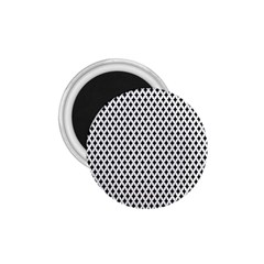Diamond Black White Shape Abstract 1.75  Magnets