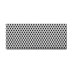 Diamond Black White Shape Abstract Cosmetic Storage Cases