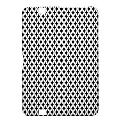 Diamond Black White Shape Abstract Kindle Fire HD 8.9