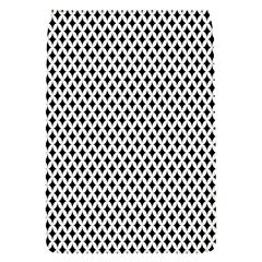 Diamond Black White Shape Abstract Flap Covers (S)