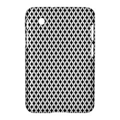 Diamond Black White Shape Abstract Samsung Galaxy Tab 2 (7 ) P3100 Hardshell Case
