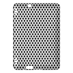 Diamond Black White Shape Abstract Kindle Fire HDX Hardshell Case
