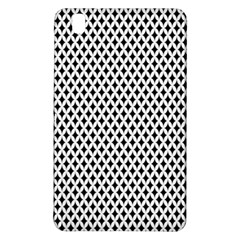 Diamond Black White Shape Abstract Samsung Galaxy Tab Pro 8 4 Hardshell Case
