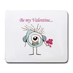 Valentine Day Poster Large Mousepads