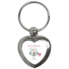 Valentine Day Poster Key Chains (Heart)