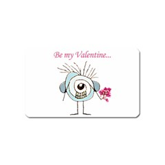 Valentine Day Poster Magnet (Name Card)