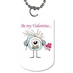 Valentine Day Poster Dog Tag (Two Sides)