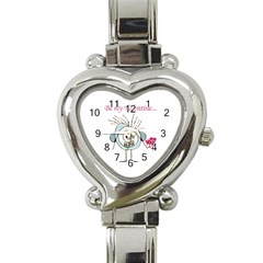 Valentine Day Poster Heart Italian Charm Watch