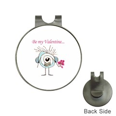 Valentine Day Poster Hat Clips with Golf Markers