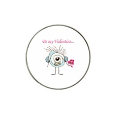 Valentine Day Poster Hat Clip Ball Marker (10 pack)