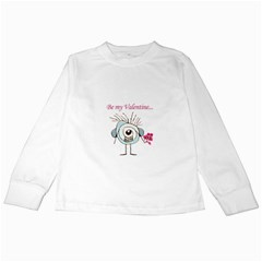 Valentine Day Poster Kids Long Sleeve T-Shirts