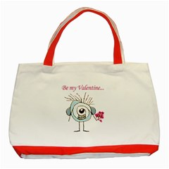 Valentine Day Poster Classic Tote Bag (Red)
