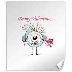 Valentine Day Poster Canvas 20  x 24
