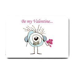 Valentine Day Poster Small Doormat