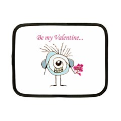 Valentine Day Poster Netbook Case (Small)