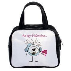 Valentine Day Poster Classic Handbags (2 Sides)