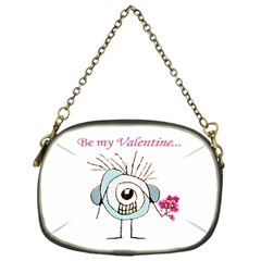 Valentine Day Poster Chain Purses (One Side)